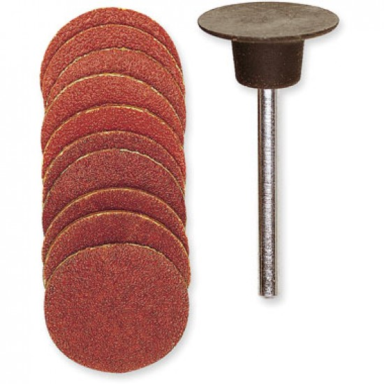 Proxxon 18mm Sanding Disc Kit