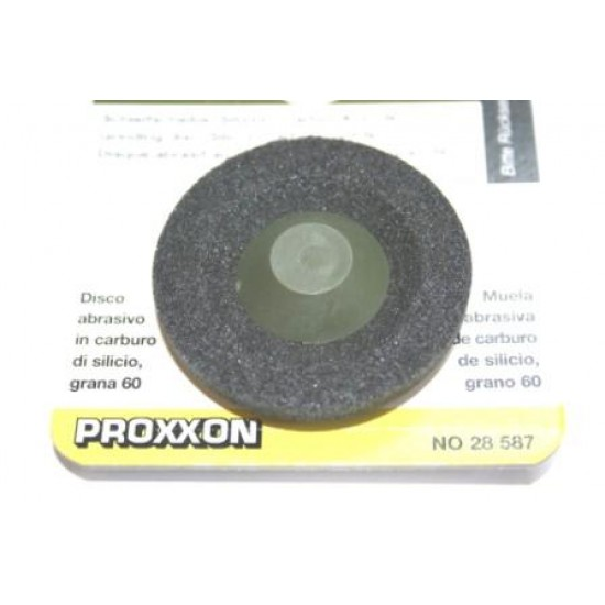 Proxxon Long Neck Angle Grinder  60 Grit Silicon Carbide Disc