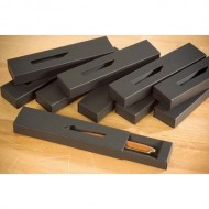 Pen Box Charcoal Black (4 Pack)
