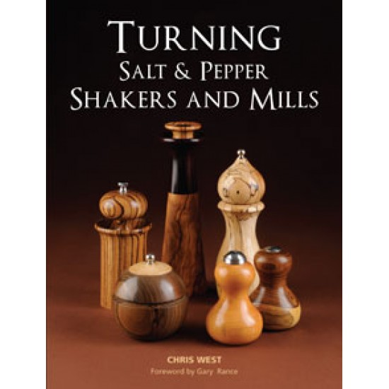 Book Turning Salt & Pepper Shakers & Mills