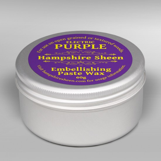 Hampshire Sheen Purple Embellishing Wax