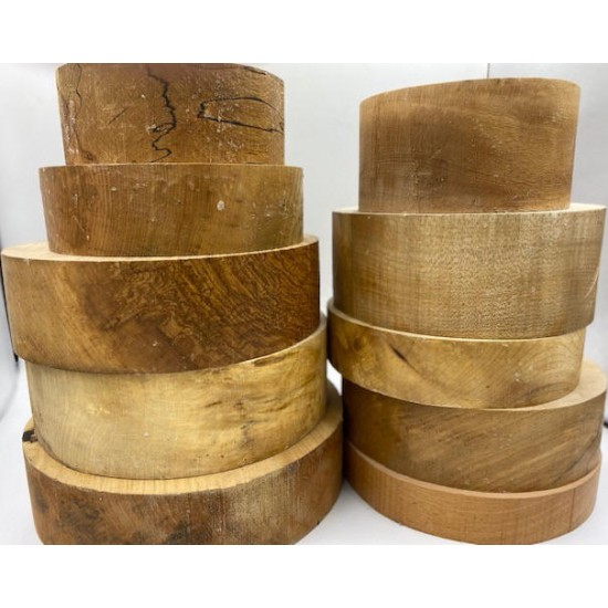 British Wood Round Large Pack