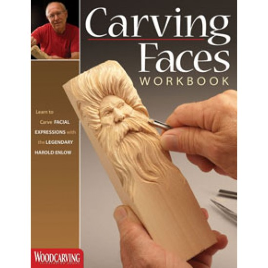 Book Carving Faces Work Book