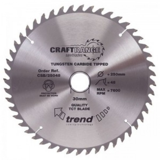 Trend Saw Blade 250mm