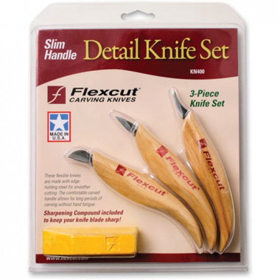 Flexcut Detail Knife Set (KN400)