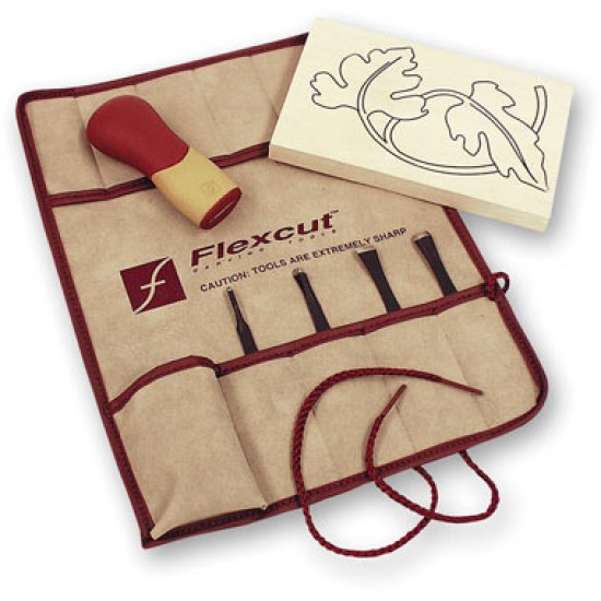 Flexcut Five Piece Craft Carver Set (SK106)