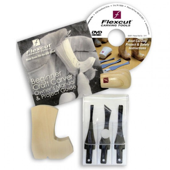 Flexcut Beginners Craft Carver Set (SK110)