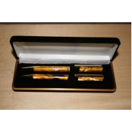 Pen Box Black Velvet