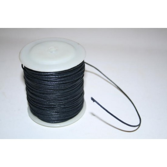 Necklace Cord Wax Cotton 1mm