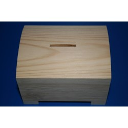 Blank Wood Money Box
