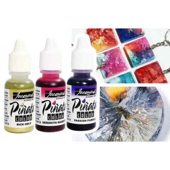 Pinata Color Exciter Pack of 9 Alcohol Inks