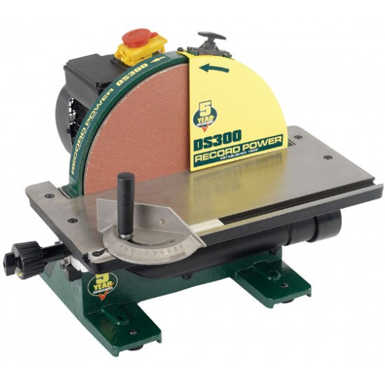 Record DS300 Disc Sander