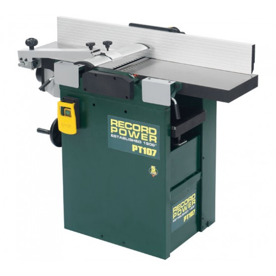 Record Power PT107  Planer/Thicknesser
