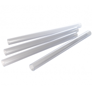2.5'' x 3ft Clear Duct Pipes (4 piece)