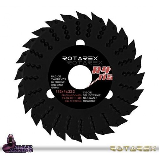 Rotarex Universal Carving Disc
