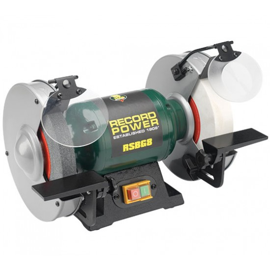 Record 8'' Bench Grinder